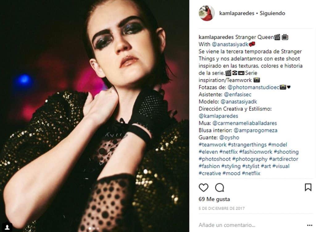Front Row - Karla Paredes - Revista Semana - Moda Ecuador