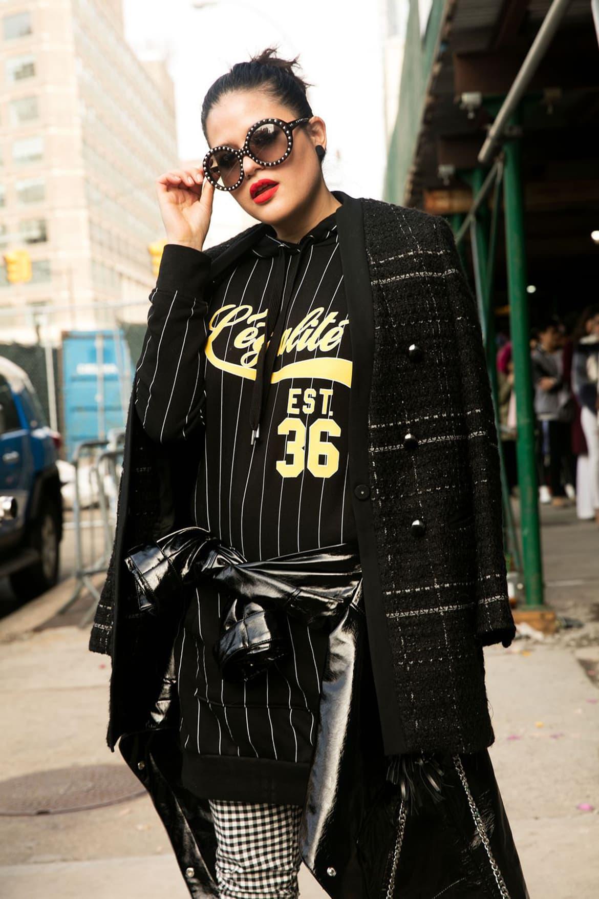 Front Row - Cristina Maag - Look New York Fashion Week - Cosmopolitan febrero 2018