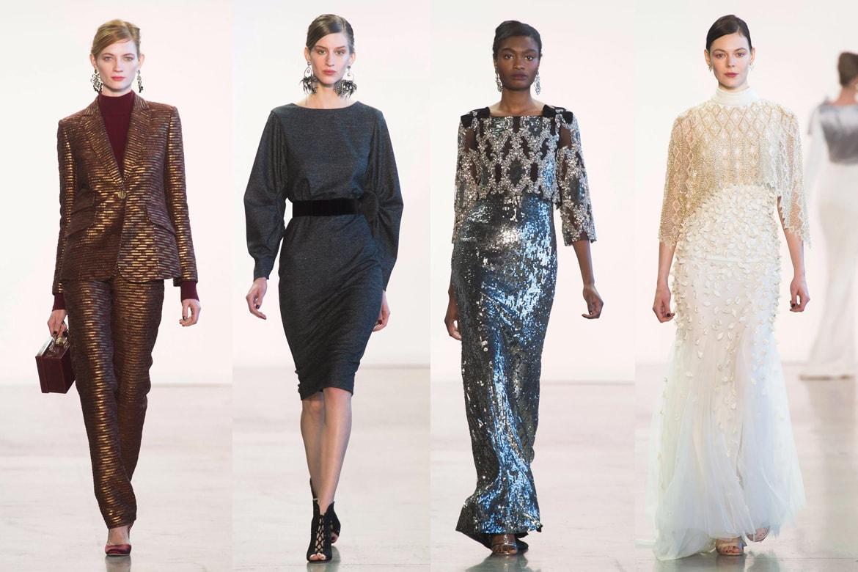 Front Row - New Yor Fashion Week - Badgley Mischka
