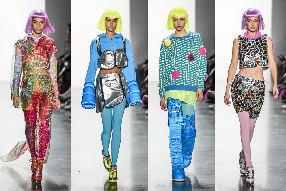 ront Row - New Yor Fashion Week - Jeremy Scott