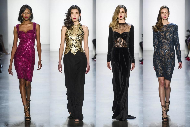 Front Row - New Yor Fashion Week - Tadashi Shoji