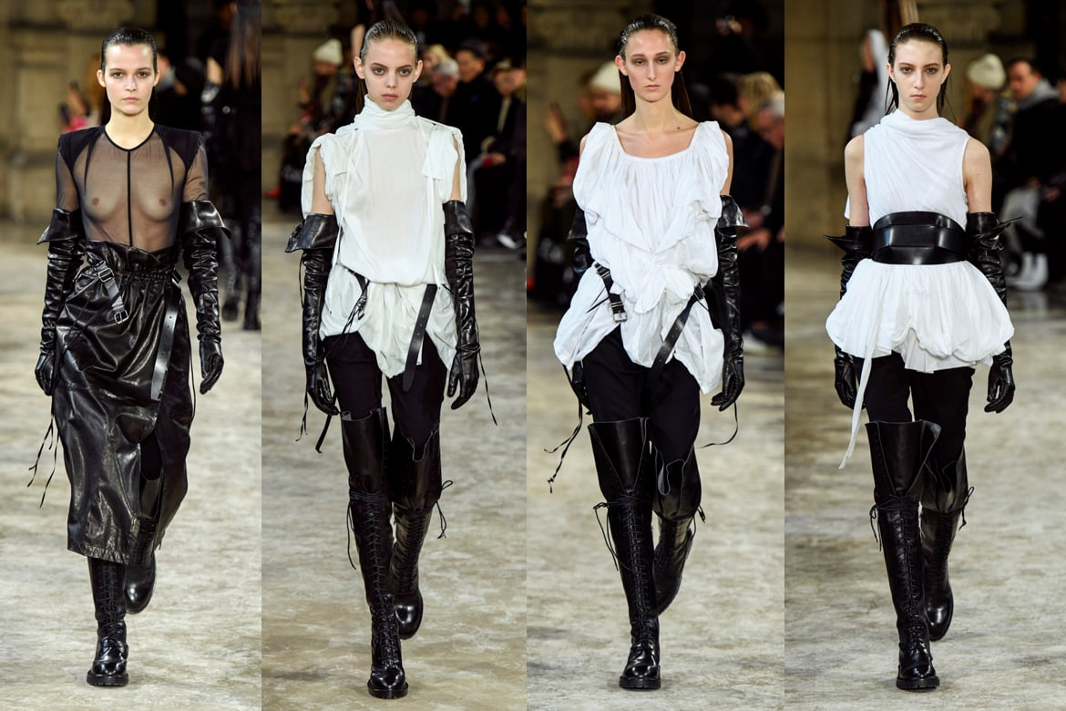Front Row - Paris Fashion Week - Ann Demeulemeester