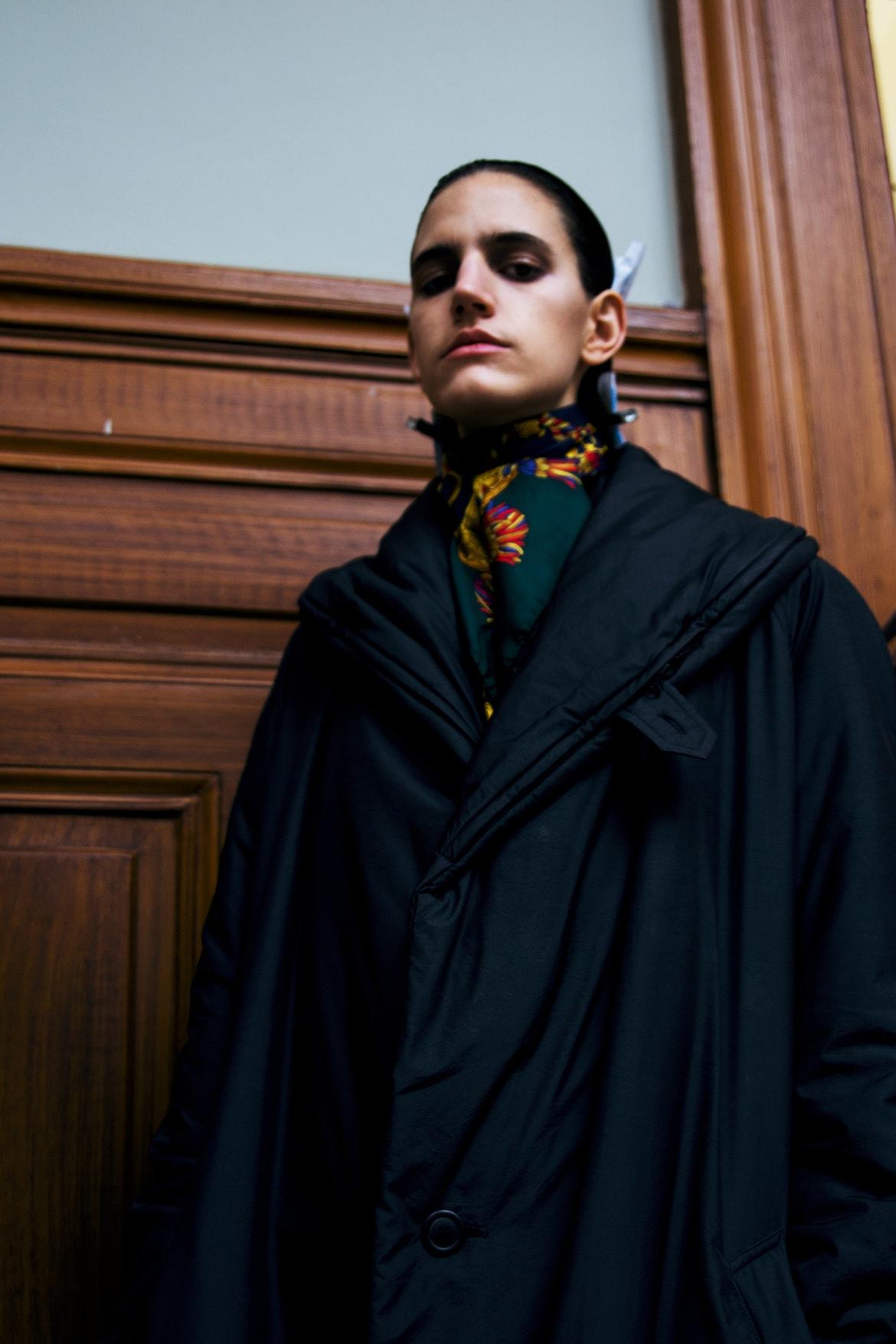 Front Row - Paris Fashion Week - Ann Demeulemeester - MAC Backstage